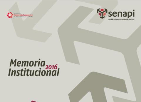 Memoria Anual | Servicio Nacional de Propiedad Intelectual